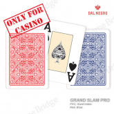 "Plastic Cards Dal Negro ""GRAND SLAM PRO"" (bulk, red/blue)"