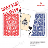 "Plastic Cards Dal Negro ""WindRose PRO"" (bulk, red/blue)"