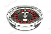 "Roulette wheel  ""Crystal"" Cammegh"